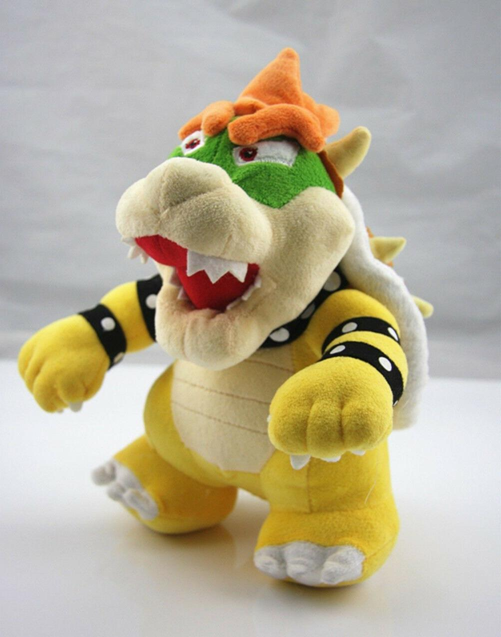 "Nintendo Mario 10"" Standing Bowser Koopa Stuffed"