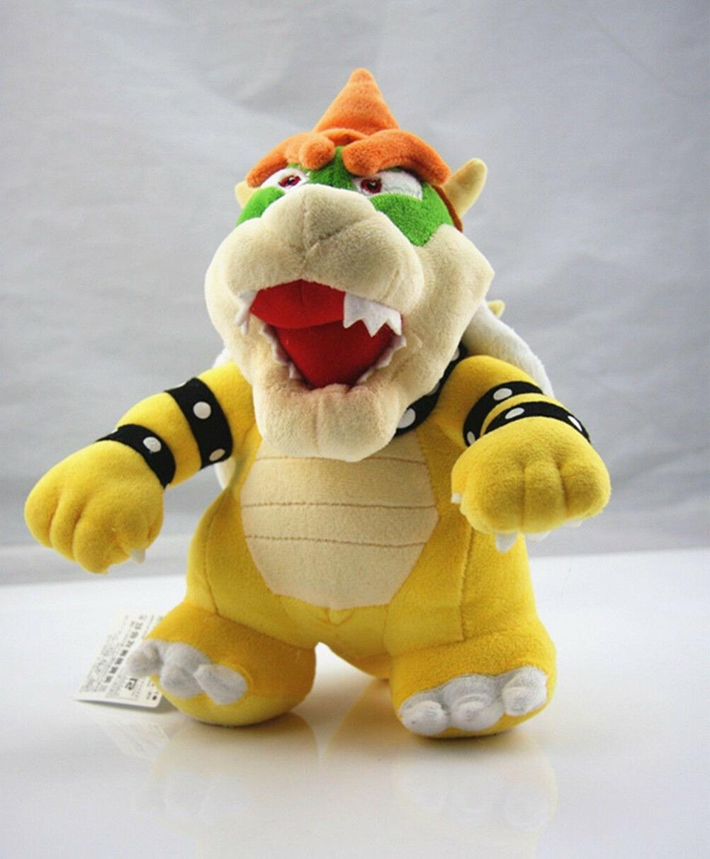 Nintendo Mario Standing Bowser Koopa Stuffed