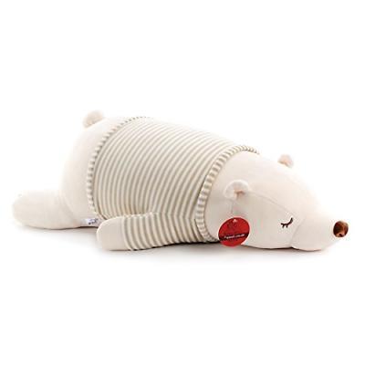 Niuniu Daddy 30'' Super Soft Plush Polar Bear Stuffed Animal