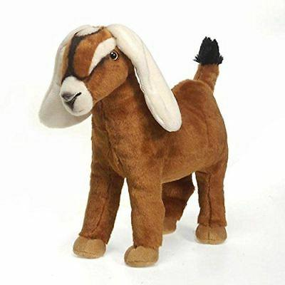 Nubian Goat Plush Stuffed Animal Toy by Fiesta Toys - 12""