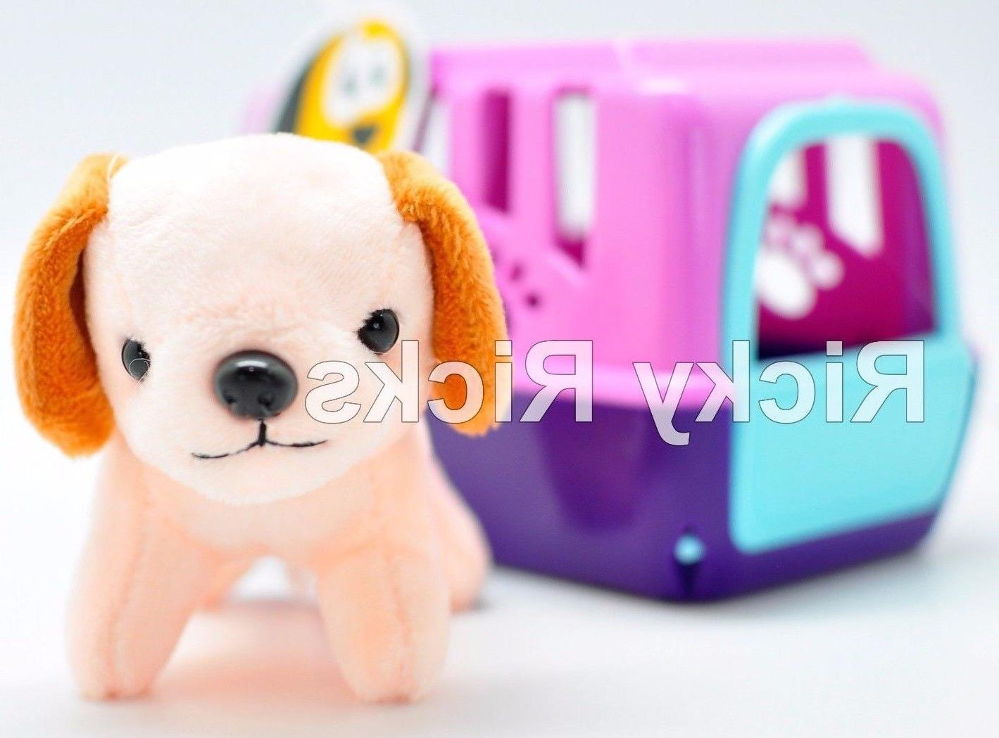 Pet Shop Toy + Carrying Cute Puppy Stuffed Animal