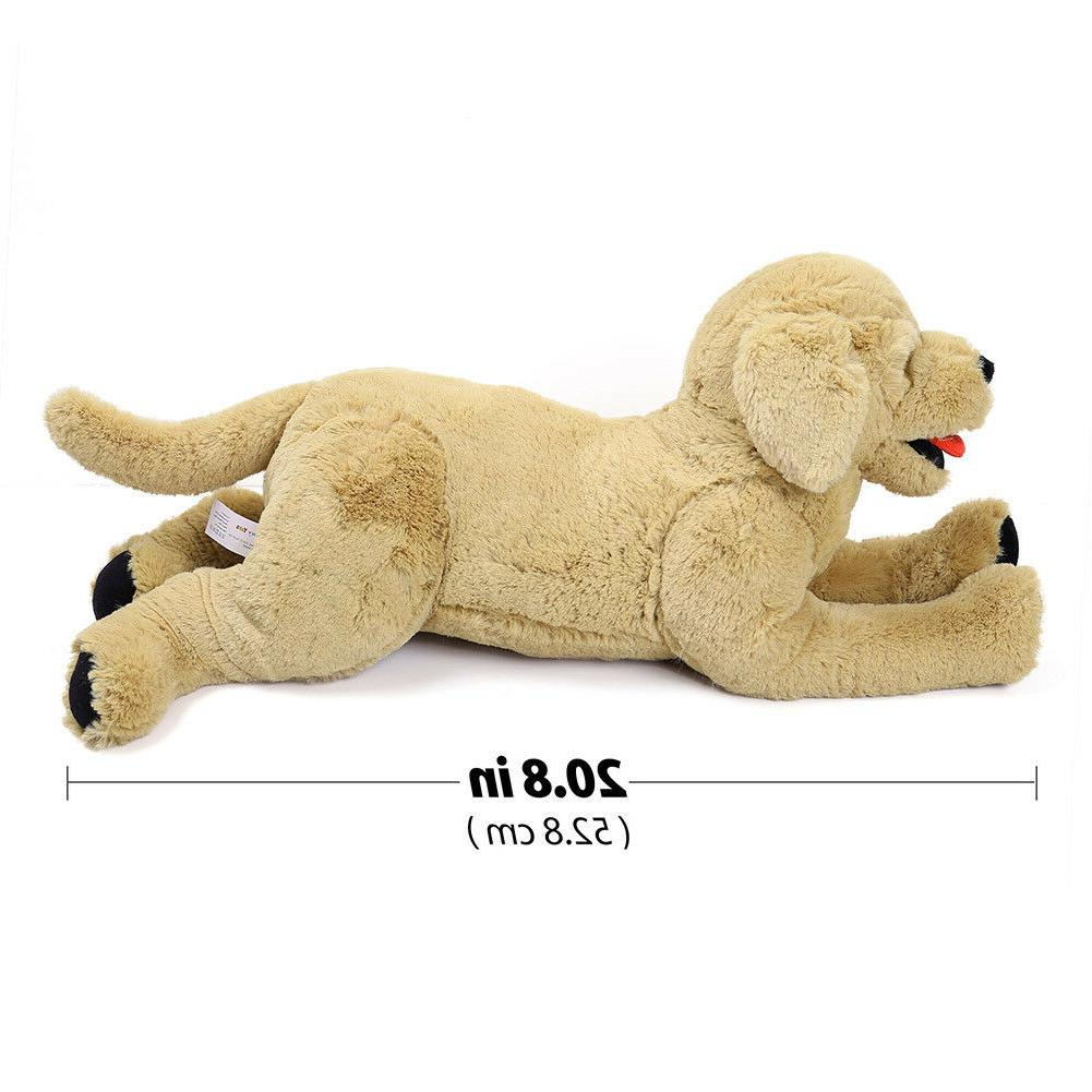 Plush Dog Stuffed Animals Labrador Retriever Puppy Doll Pill