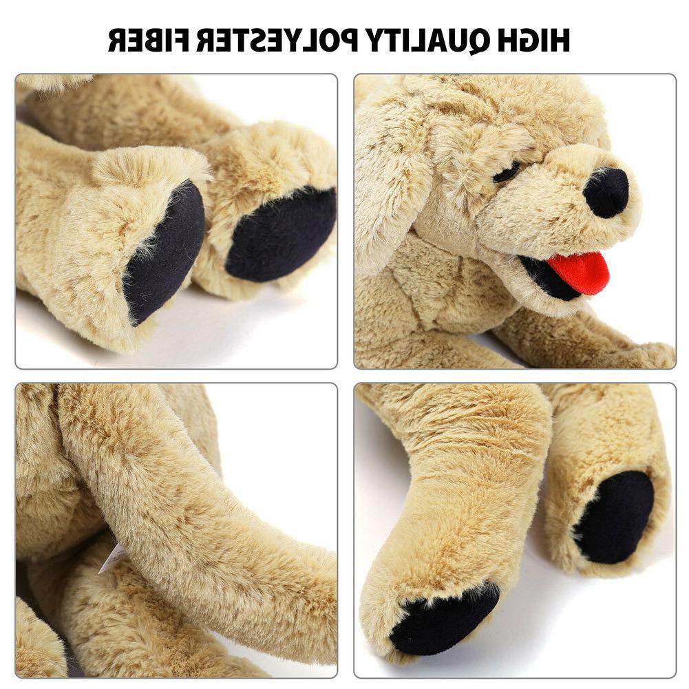 Plush Dog Gold Labrador Retriever Doll Birthday Gift
