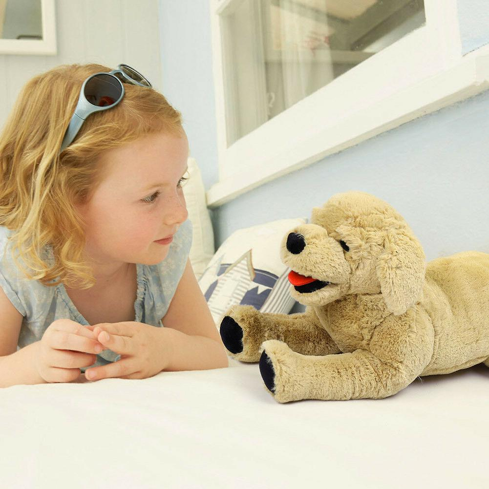 Plush Stuffed Animals Gold Labrador Doll Birthday