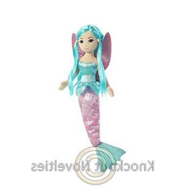 "Plush - Mermaid - Shellina Sea Sparkles Fairy - 18"" Stuffed"