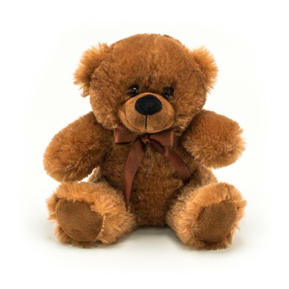 """Plush in a Rush 6"""" Stuffed Animal Brown Teddy Bear Plush"""