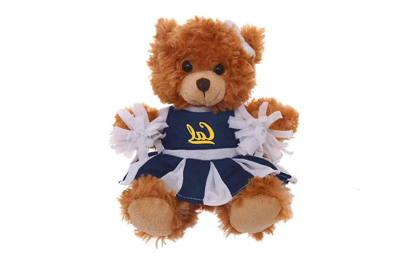 "Plushland 6"" Teddy Bear Brown Cute Stuffed Animal UC Berkele"
