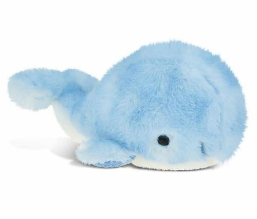 PuzzledBlue Whale Super-Soft Stuffed Plush Cuddly Animal Toy