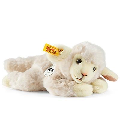 Steiff Little Friend Linda Lamb Plush, Wool White