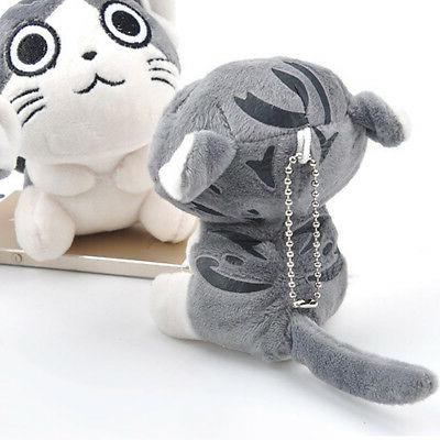 Super Cute Cat Doll Stuffed Animal Bolster Key chain Hot Sell