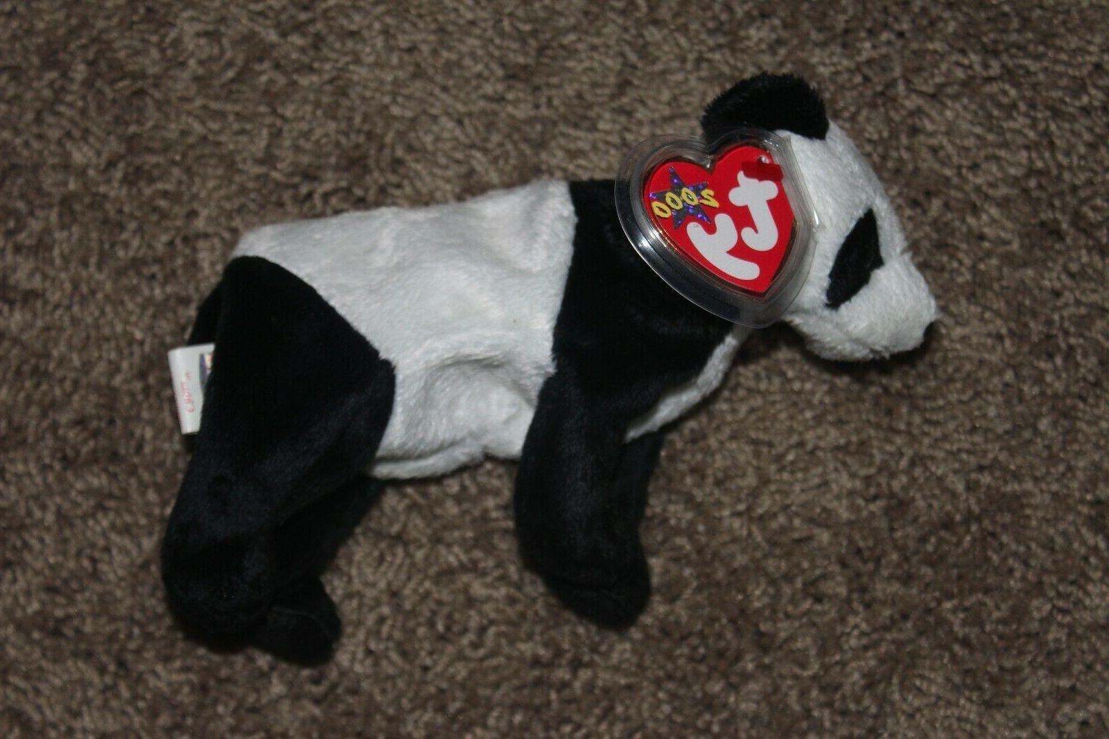 TY Beanie Baby - CHINA the Panda