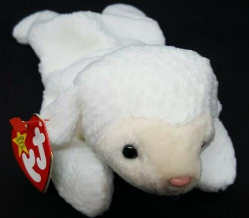 MINT with MINT TAGS TY FLEECE the LAMB BEANIE BABY
