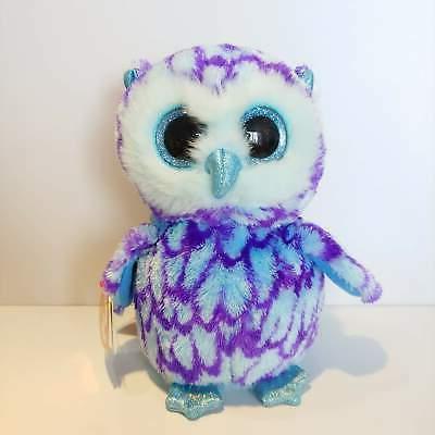TY Beanie Boo Plush - Oscar the Owl 15cm