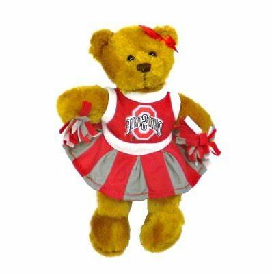 Teddy Bear Plush Stuffed Animals Baby Girls Gifts Brown Ohio