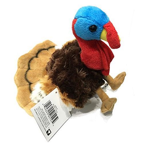 "Turkey Animal Plush Toy 8"""
