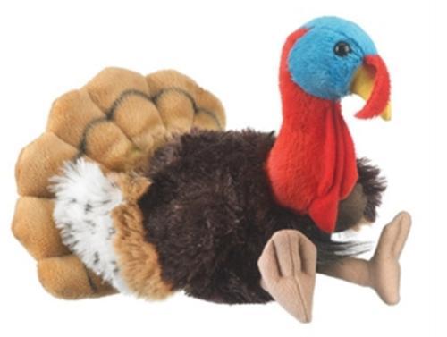 "Turkey Stuffed Animal Plush Toy 8"""