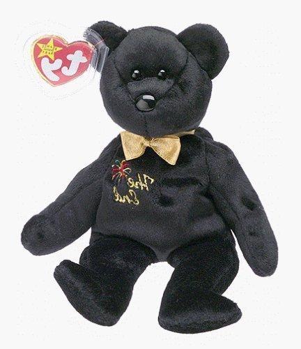 af24e0106 Ty Beanie Babies - The End Black Teddy