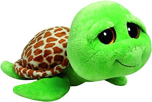 Ty Beanie Boos Buddies Zippy Green Turtle Medium Plush