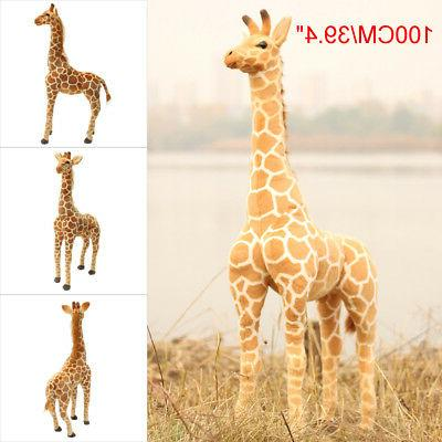 US 40'' Giraffe Doll Large Stuffed