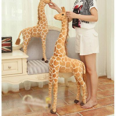 US 40'' Big Giraffe Large Stuffed Doll