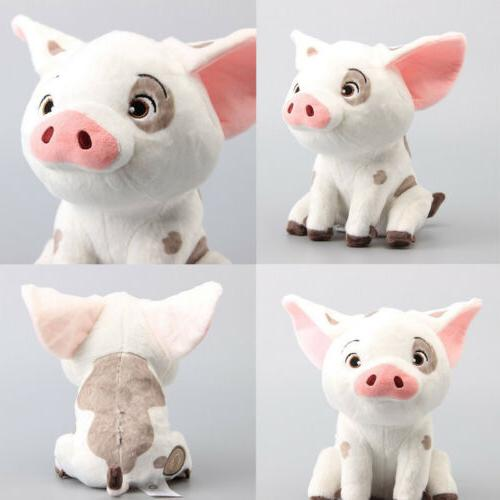 US STOCK 2019 Cute Movie Moana Pet Pig Pua Stuffed Animals P