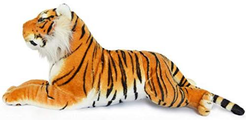 VIAHART Sandor The Sumatran Tiger 19 Large Animal Cat | by Tale Toys