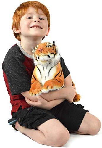 VIAHART Sandor The Tiger Large Sumatran Tiger Stuffed by Tale