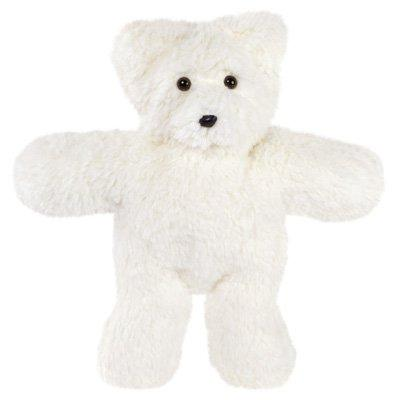 Vermont Teddy Bear - Travel Buddy Bear, 14 inches, White, Ma