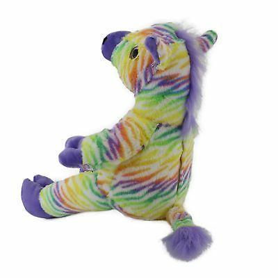 Wewill Light LED Zebra Lifelike Stuffed