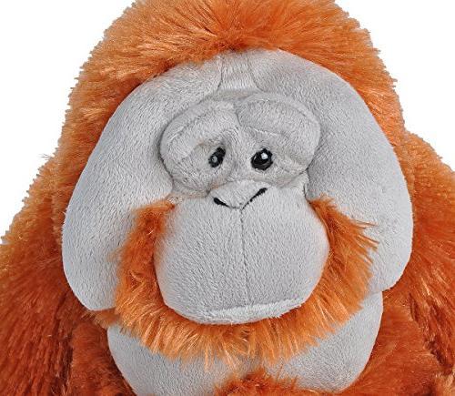 Wild Orangutan Plush, Stuffed 12