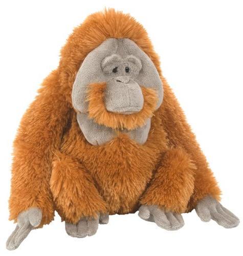 Wild Orangutan Plush, Stuffed Animal, Plush Toy, Gifts