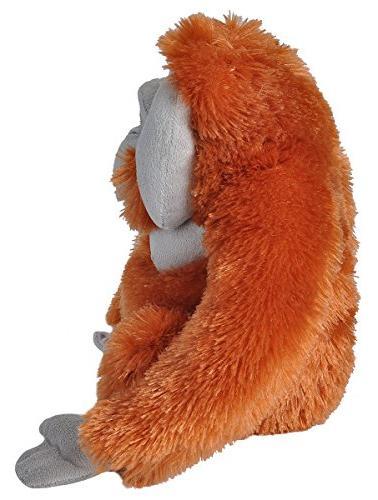 Wild Orangutan Stuffed Animal, Plush Toy, Gifts 12