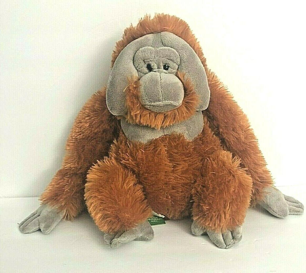 Wild Republic Orangutan Plush, Stuffed Animal, Plush Toy, Gi
