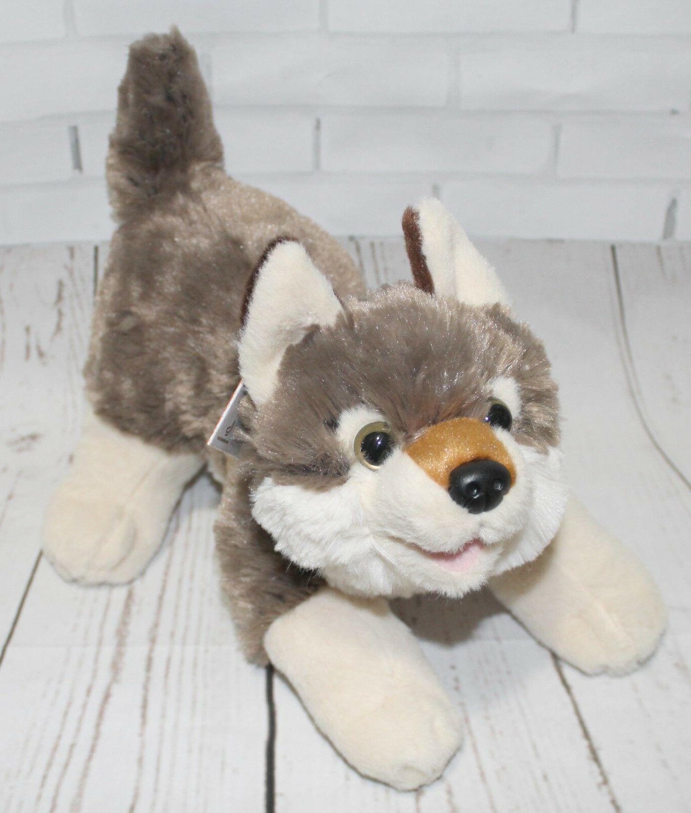 "Wild Republic Playful Series WOLF 10"" Plush Stuffed Animal N"