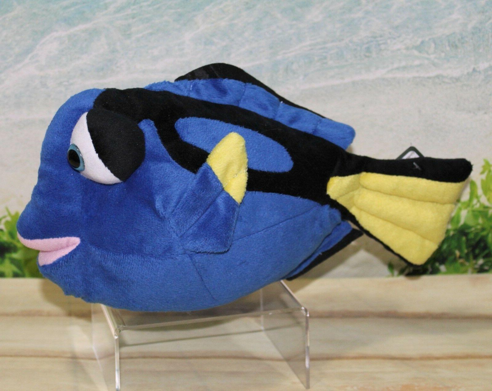 """Wild Republic REGAL BLUE TANG 12"""" Plush Fish Cuddlekins Stuf"""