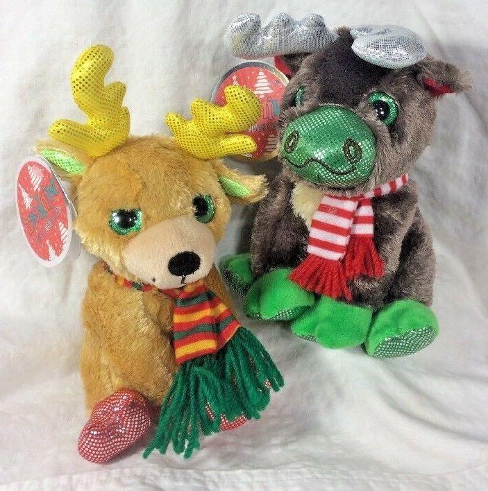 Winkeez Moose Ribbon Reindeer 2017 2