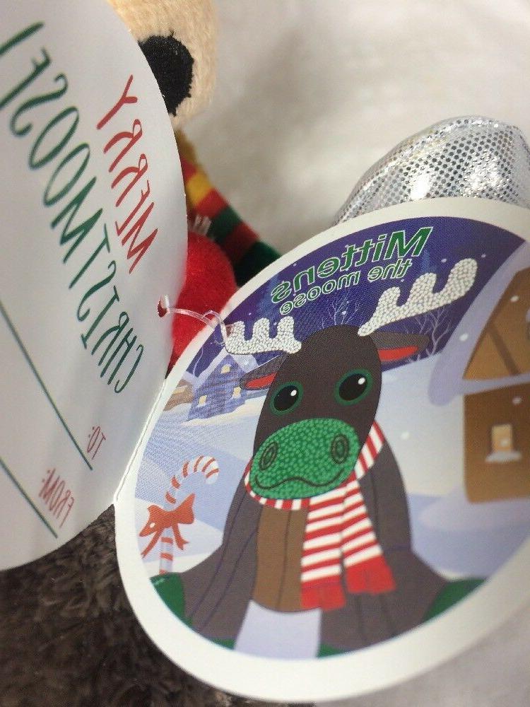 Winkeez Plush Ribbon Reindeer 2017 2 Stuffed