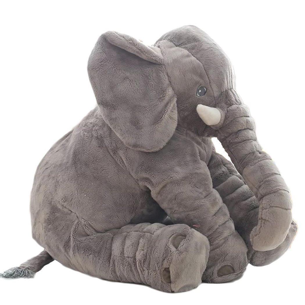 XXL Elephant Toy Pillow 24 inch