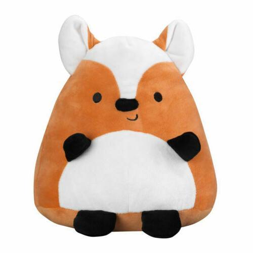 acorn orange plush fox stuffed animal