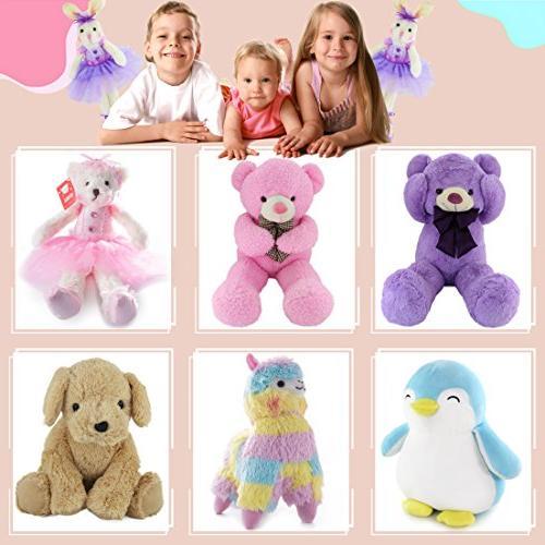 WEWILL Ballerina Animal Toys Rabbit Doll, Gift,