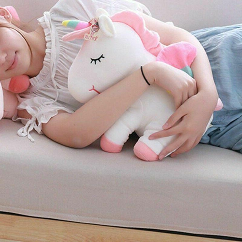 Adorable Horse Plush Fluffy Animal Toys Kids Baby Faddish