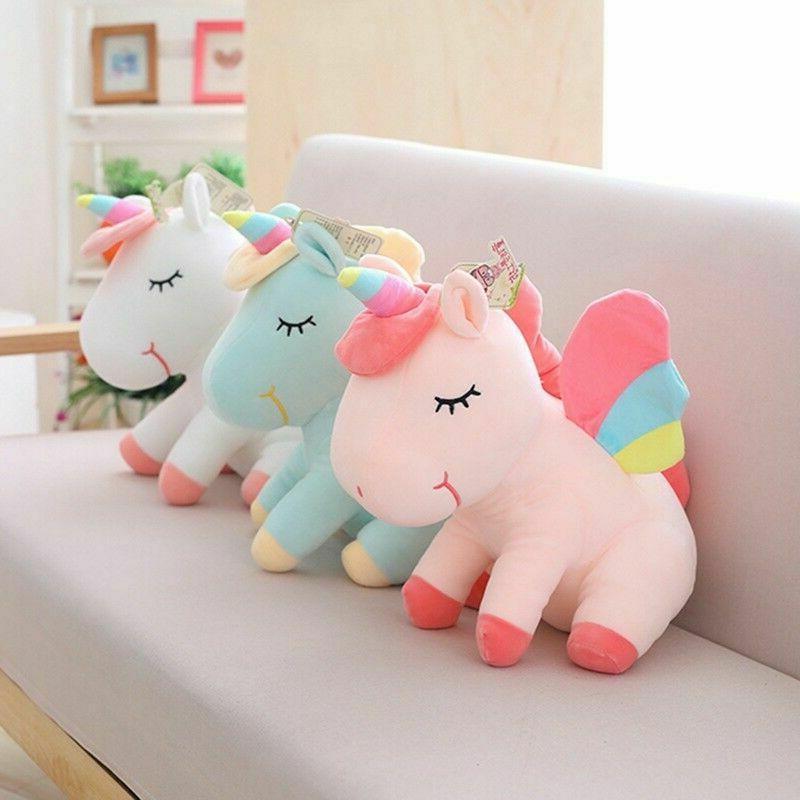 Adorable Unicorn Horse Fluffy Toys