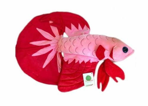 adore 20 luna the betta fish stuffed