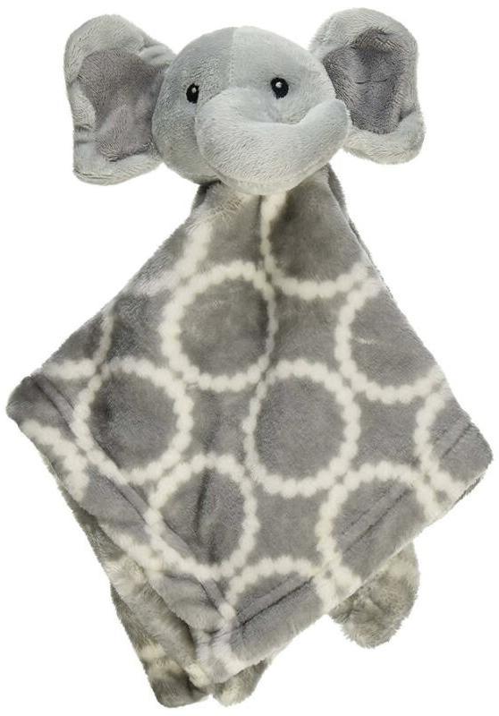 Hudson Animal Plushy Gray Elephant
