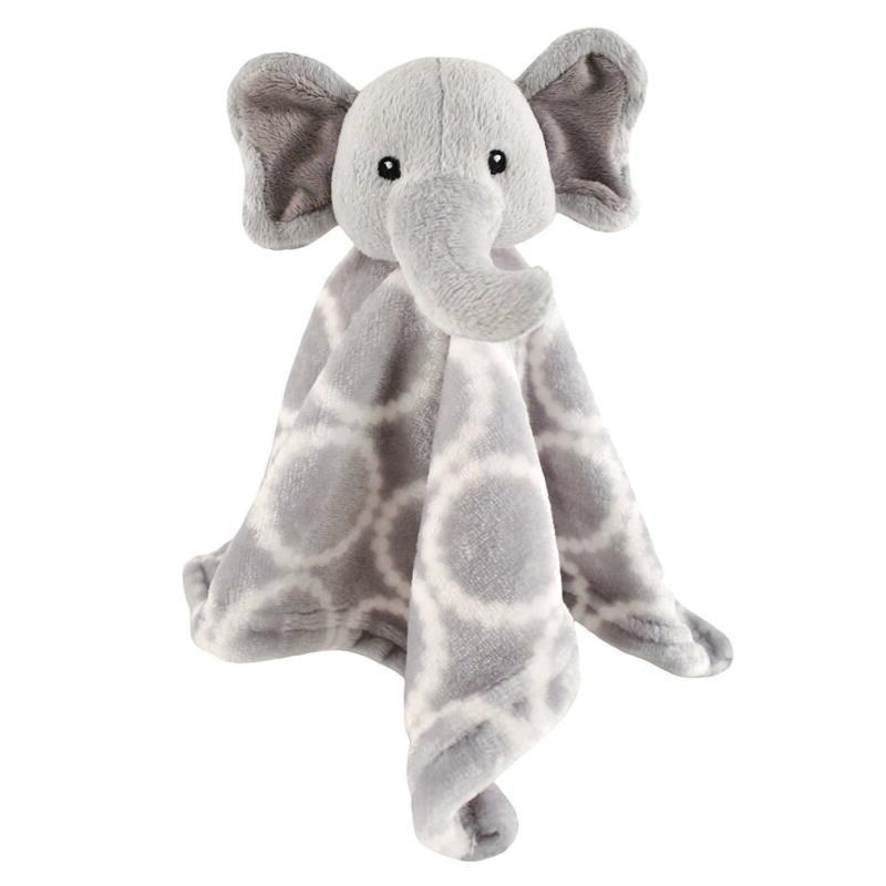 Hudson Plushy Blanket, Elephant