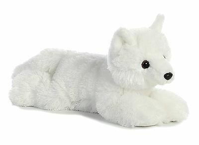 arctic fox flopsie plush toy