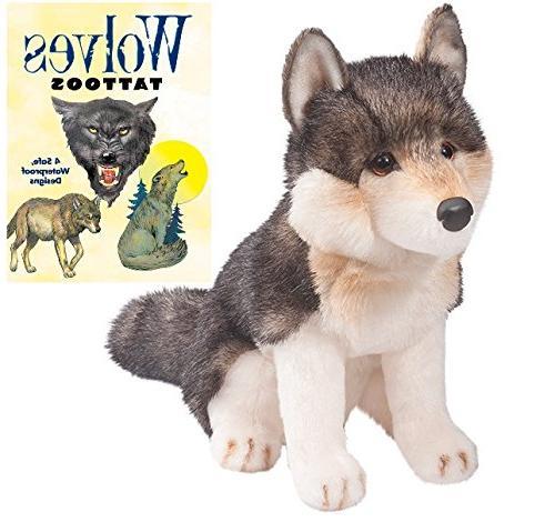 atka wolf plush