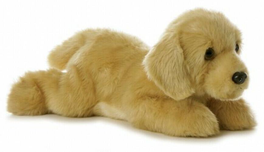 aurora world flopsie plush goldie labrador dog