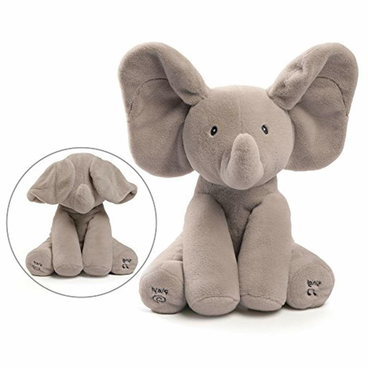 baby animated flappy the elephant plush toy