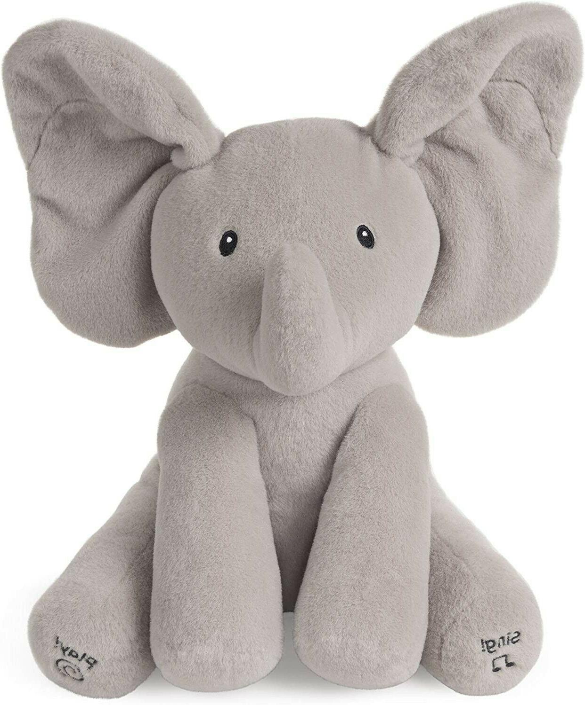 baby baby animated flappy the elephant stuffed